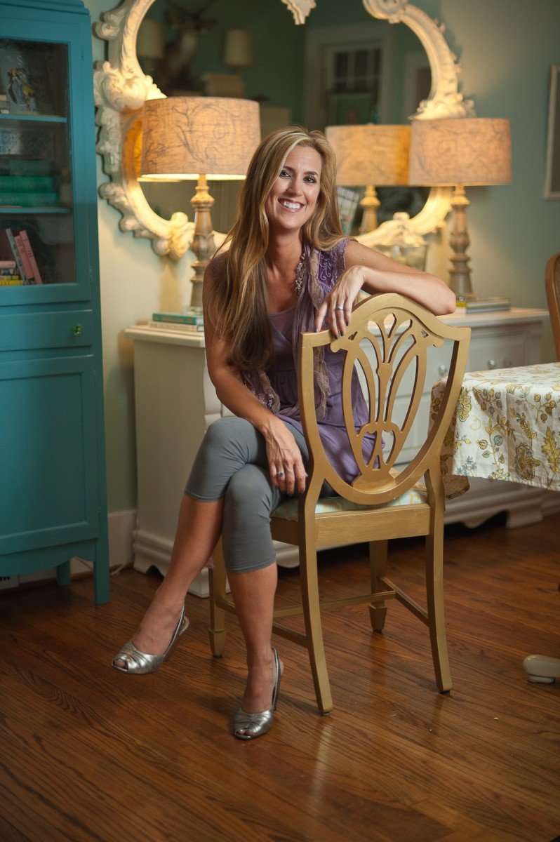 Brentwood TN Portraits of Interior Decorator Kristie Barnett