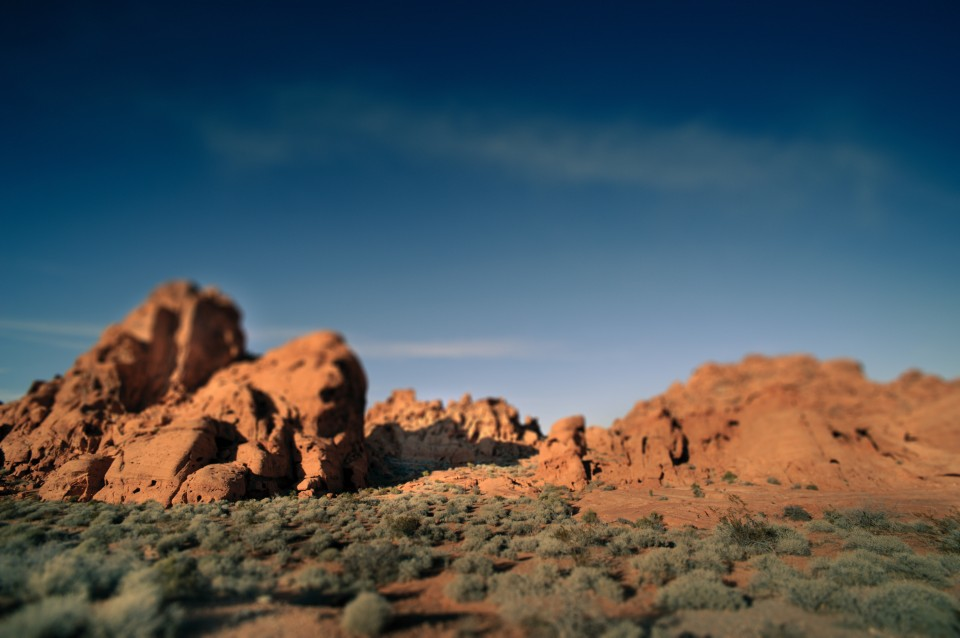 Valley of fire landscape photograph