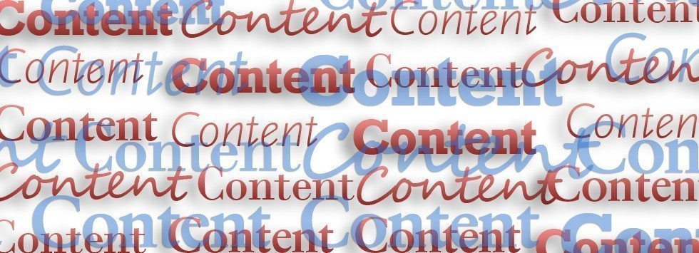 secret to good SEO and site rankings is content
