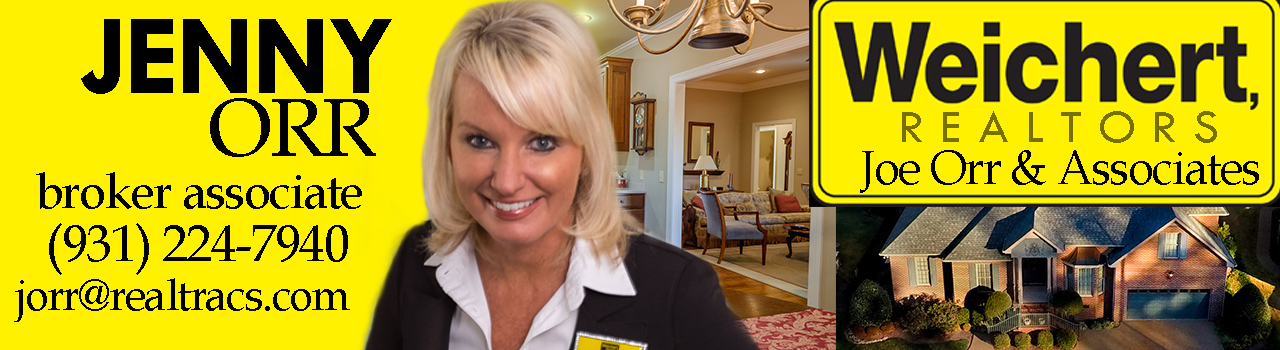 Jenny Orr trusts Don Wright for Real Estate Photography in TN
