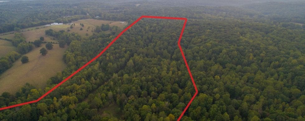 , Land Aerial Real Estate Preview | Van Leer TN, Don Wright Designs & Photography