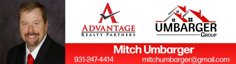 Mitch Umbarger Group Real Estate Middle TN Banner