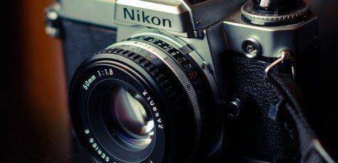 Nikon FE 50mm 1.8 Vintage Metal Camera